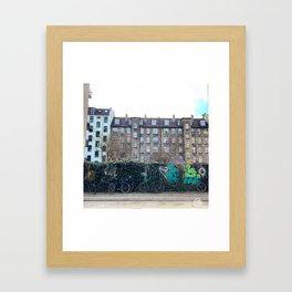 Homes, Vesterbro, Copenhagen Framed Art Print