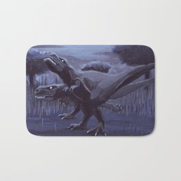 Hunting Party Bath Mat