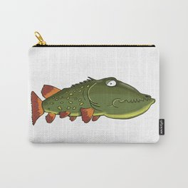 Depressed fish Carry-All Pouch