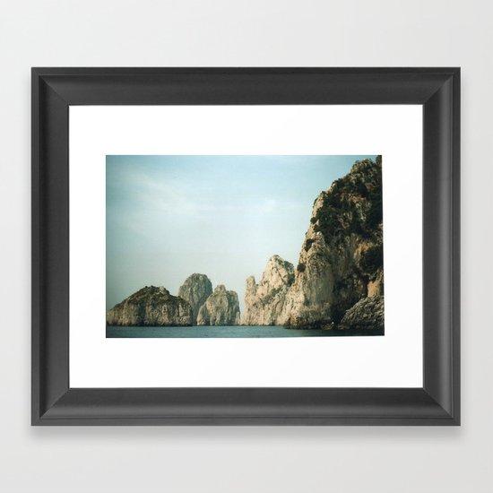 Capri 3 Framed Art Print