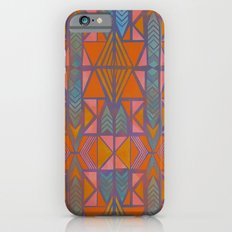 Nabu Tribal Orange Slim Case iPhone 6s