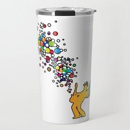 Rock Baby! (color) Travel Mug