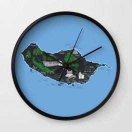 Madeira Wall Clock