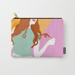 Good Vibes Killing it Girl Carry-All Pouch