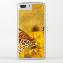 Echoes of Nature Clear iPhone Case