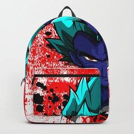 Goku blue Backpack