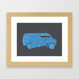 TRON Van Framed Art Print
