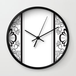 Grapeleaves Deco Wall Clock