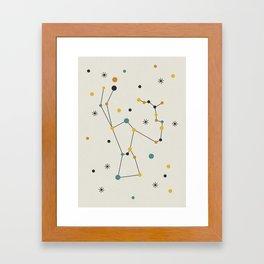 Orion Constellation Framed Art Print