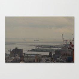 The Port Life Canvas Print