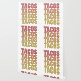 Retro Tacos Tacos Tacos Tacos Wallpaper