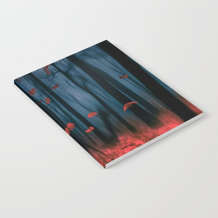 Red feather dance  (colour option) Notebook