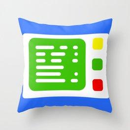 Beta One Command Base Throw Pillow