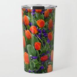 Tulip Field 2 Travel Mug