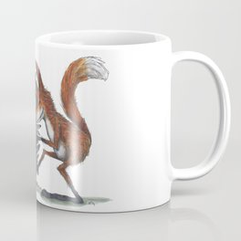 Owl & Fox dancing Coffee Mug