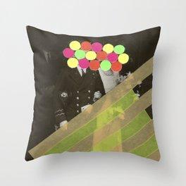 Fluo Union Throw Pillow
