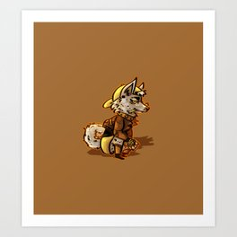 Doggo Punk Art Print