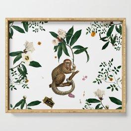Monkey World: Amber-Ella - White Serving Tray