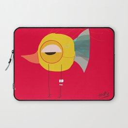 Crazy Bird Laptop Sleeve