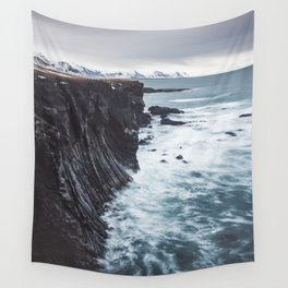 The Edge - Landscape and Nature Photography Wall Tapestry