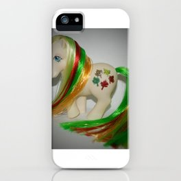 My Little pony Customised Gusty, rehaired, gorgeous vintage g1 iPhone Case
