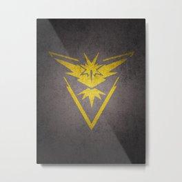 Team instict Metal Print