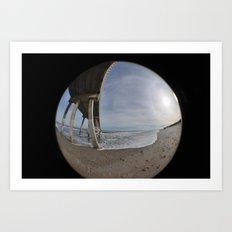 Fisheye View Art Print