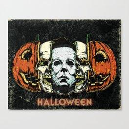 Halloween Leinwanddruck