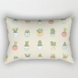 Cute Succulents Rectangular Pillow