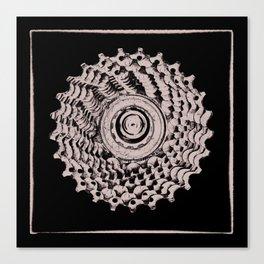 Mountain Bike rear Cassette Canvas Print
