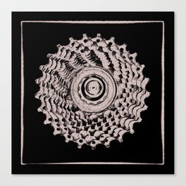 Mountain Bike rear Cassette Canvas Print