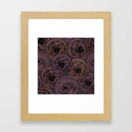 Chocolate velvet . Framed Art Print