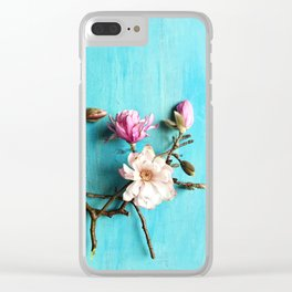 Flowers of Spring Clear iPhone Case