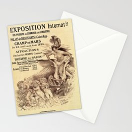 Expo Commerce Paris 1893 Stationery Cards