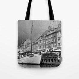 Danish Canal Tote Bag
