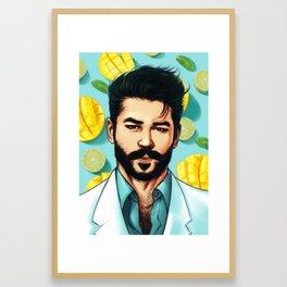 マンゴーモヒート (Mango Mojito) Framed Art Print