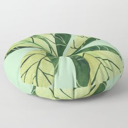 Leaf flower Floor Pillow