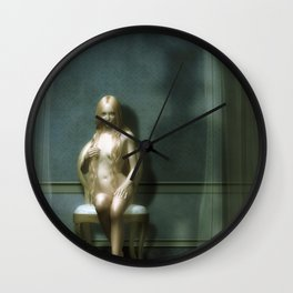 The Visitor Wall Clock