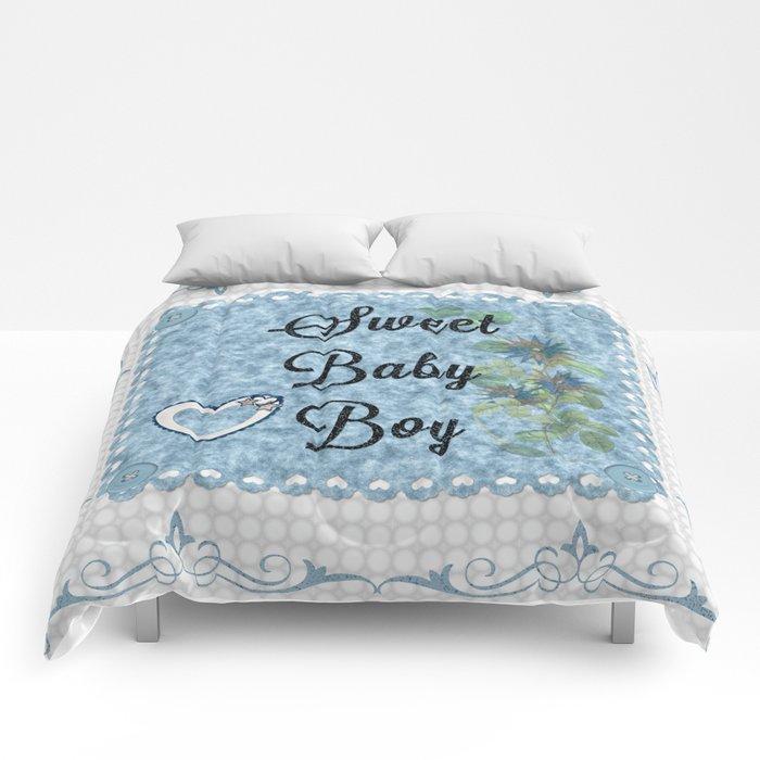 Sweet Baby Boy Comforters