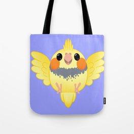 Cockatiel Birb Baby – v03 Tote Bag