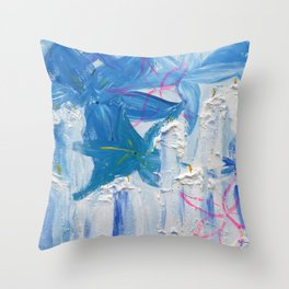 For Manchester Throw Pillow