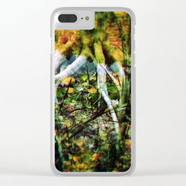 Roots Clear iPhone Case