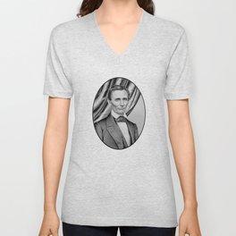 Abraham Lincoln Unisex V-Neck