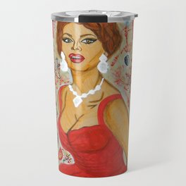 Ain't She A Dish, Sophia Loren! Travel Mug