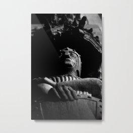 shot on film .. knight Metal Print