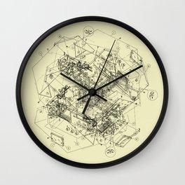 The Way Back Wall Clock