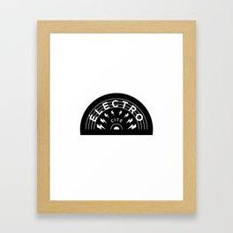 Électro-Cité 2 Framed Art Print