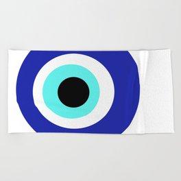 Blue Eye Beach Towel