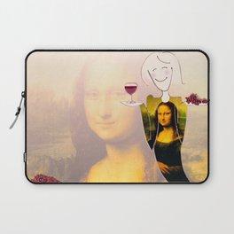 She Hearts Mona Laptop Sleeve