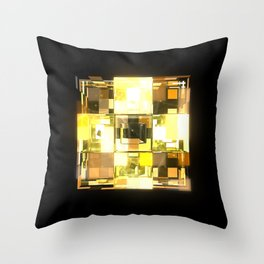 My Cubed Mind: Frame 001 Throw Pillow